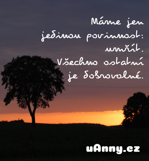 jedina_povinnost